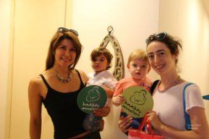 Ağustos 2015, Kadıköy Anneleri'ne Özel Ücretsiz Bebek Taşıma Workshop'u Yaz Buluşması'ndan...