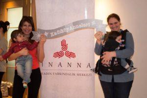 """Nisan 2015, Kadıköy Anneleri'ne Özel Ücretsiz """"Bebek Taşıma"""" Workshop'u Bahar Buluşması'ndan..."""